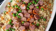 Ayo Sarapan! Ini 10 Variasi Nasi Goreng Sosis yang Gurih Enak