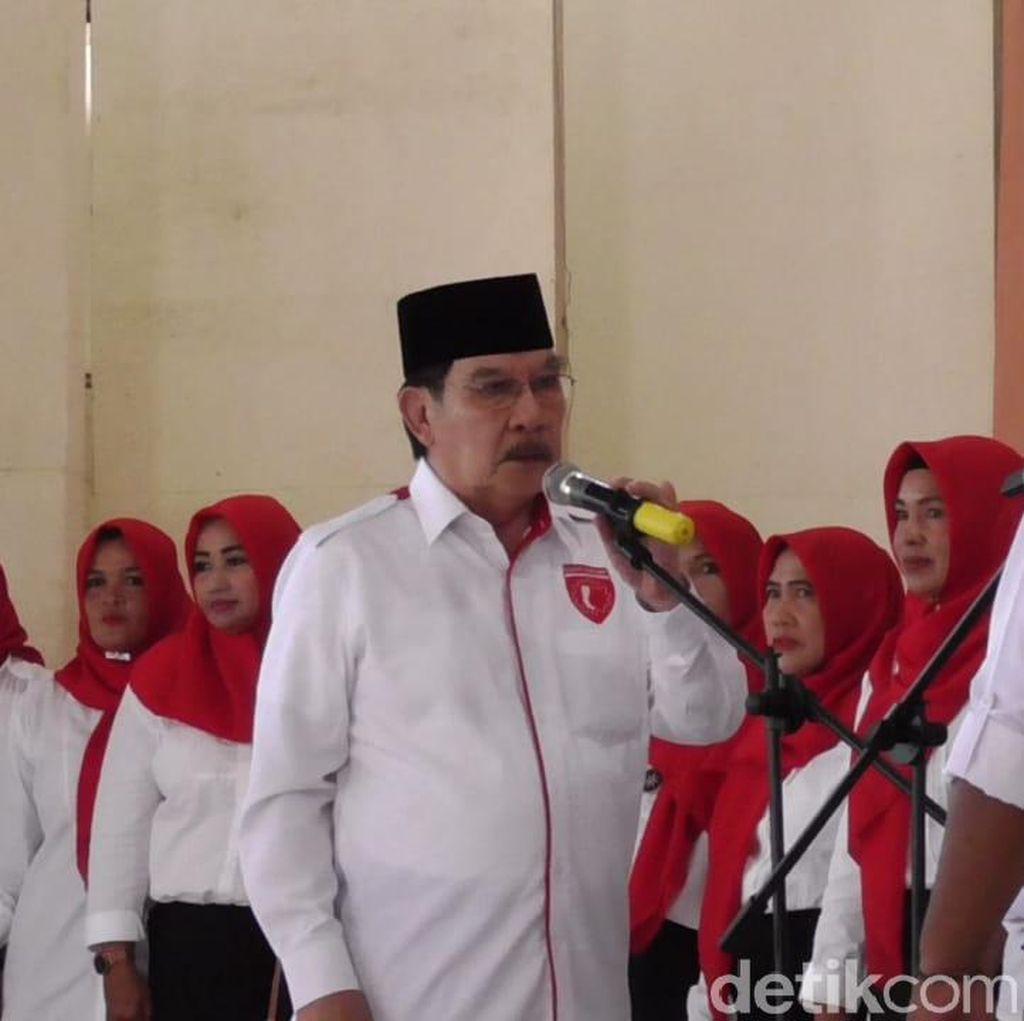 Pelantikan Garda Jokowi di Babel: Diserang Hoax hingga Penyusup
