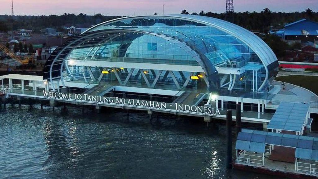 Ini Dia Tampilan Anyar Pelabuhan Tanjung Balai Asahan