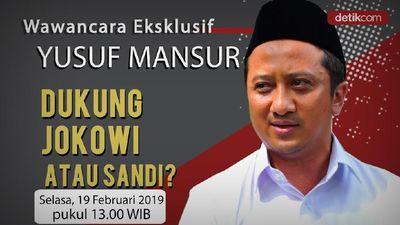 Yusuf Mansur Pilih Jokowi Atau Sandi?