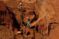 Melihat Tambang Emas di Zimbabwe yang Banjir dan Tewaskan 24 Orang