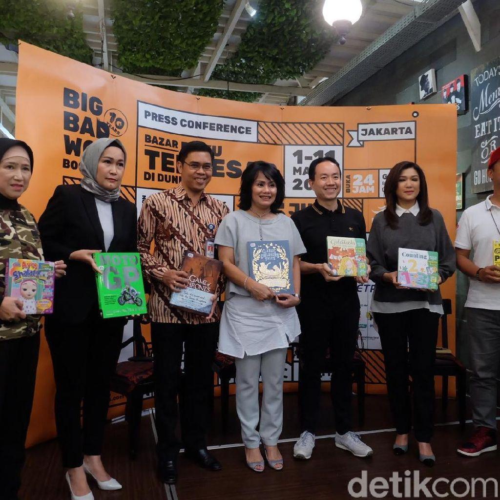 Dibuka 24 Jam Non Stop, Big Bad Wolf Jakarta 2019 Boyong 5,5 Juta Buku