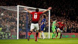 Hasil Piala FA: Babak I Chelsea Vs Man United 0-2