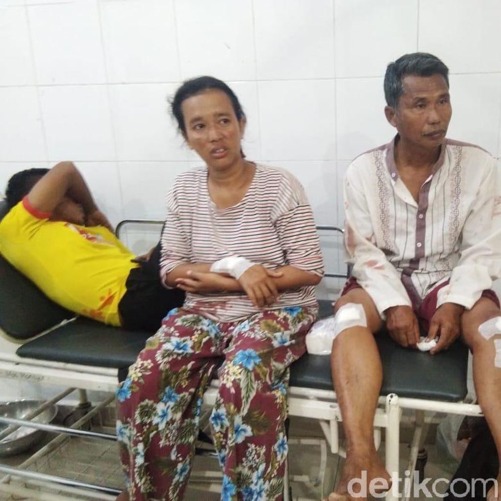 Satu Keluarga Dibacok Tetangga, Ibu Hamil 7 Bulan Ikut Jadi Korban