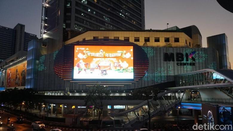 Suasana Thailand di Malam Hari (Shinta/detikTravel)