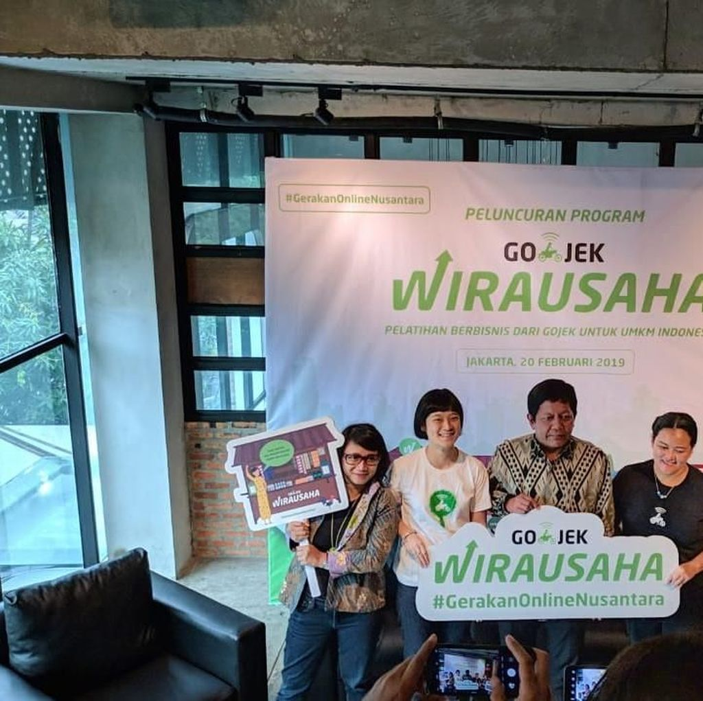 Tahun Ini Go-Jek Mau Digitalkan 35.000 UMKM Indonesia
