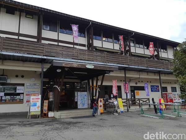 Inilah Megahira Ski Resort, satu-satunya tempat main ski di Hiroshima. Lokasinya di kawasan Gunung Megahirayama, sekitar 1 jam dari Kota Hiroshima. (Bonauli/detikTravel)