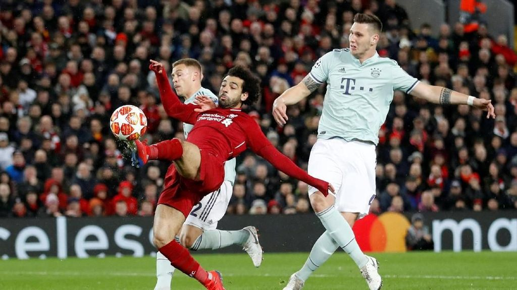 Hasil Liga Champions: Liverpool vs Bayern Berakhir Tanpa Gol