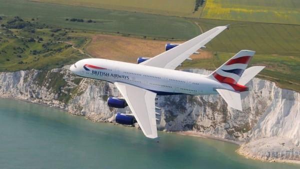 Kenyamanan dalam pesawat A380 dalam penerbangan London Heathrow ke Boston. Lama perjalanan ini sekitar 7 jam dan 40 menit (CNN Travel)