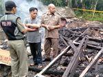 Mencekamnya Detik-detik Kebakaran Bunuh Diri Sekeluarga di Sukabumi