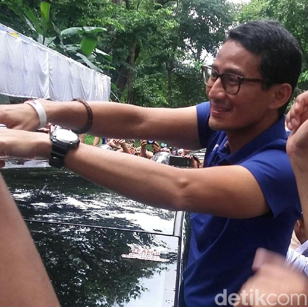 Kampanye di Bali, Sandiaga Janji Bentuk Koperasi Setara Unicorn