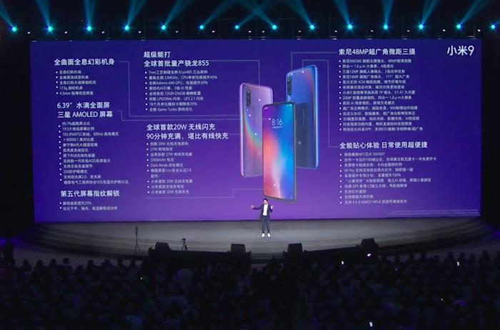 Peluncuran Xiaomi Mi 9. Foto: Xiaomi