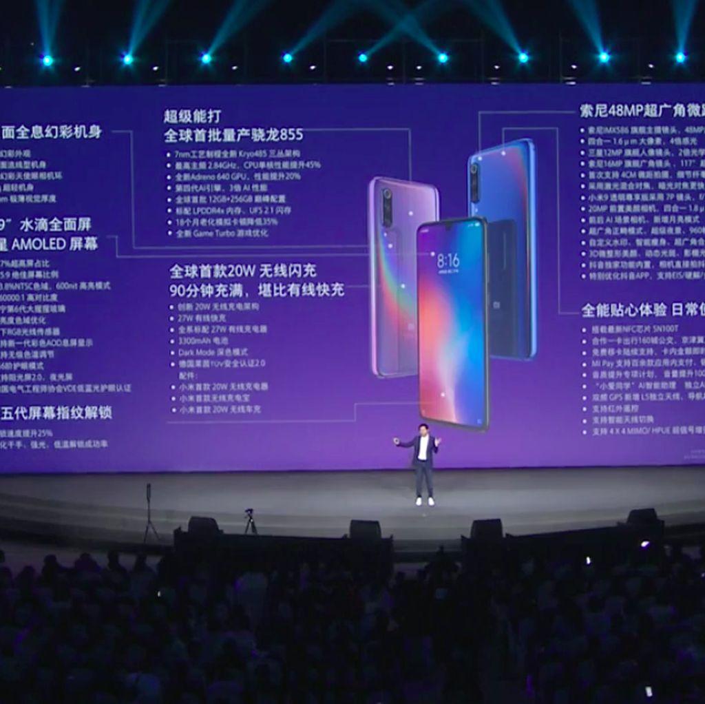 Xiaomi Mi 9 Resmi Diluncurkan, Ini Harganya