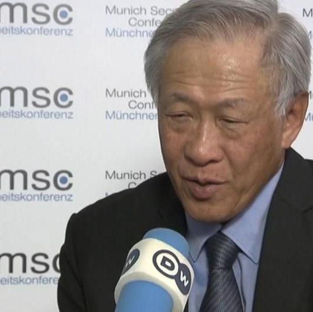 Menteri Pertahanan Singapura: Harga Konflik di Laut Cina Selatan Terlalu Mahal