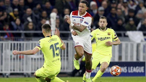 Lyon berpotensi kembali memberikan kejutan untuk Barcelona.