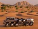 Mobil Garang Syekh Arab dengan 10 Ban