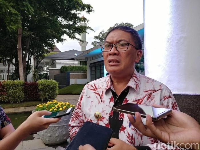 Wali Kota Bandung Oded M Danial. (Foto: Tri Ispranoto/detikcom)