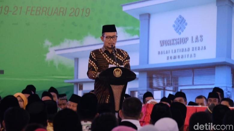 Puji Jokowi soal Hari Santri, Menaker: Semoga Memimpin RI Kembali