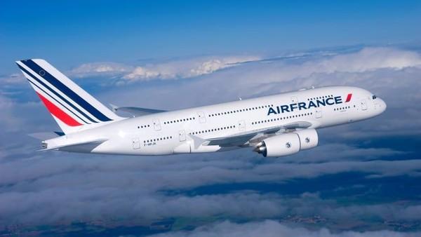 Semua pesawat Airbus jenis A380 dirakit di Toulouse, Prancis. Ada penerbangan ke New York dari Paris dari Air France (CNN Travel)