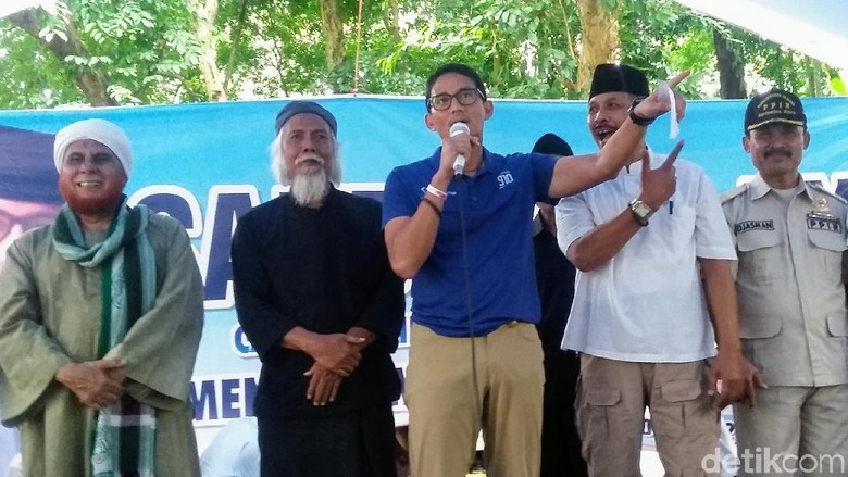 Sandiaga Dicurhati Gaji Guru PAUD di Bondowoso Rp 150 Ribu/Bulan