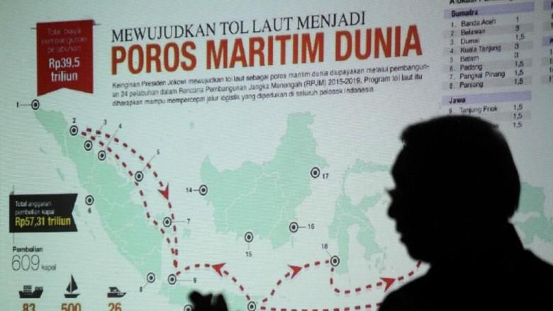 Diskusi Publik Politik Infrastruktur Jokowi