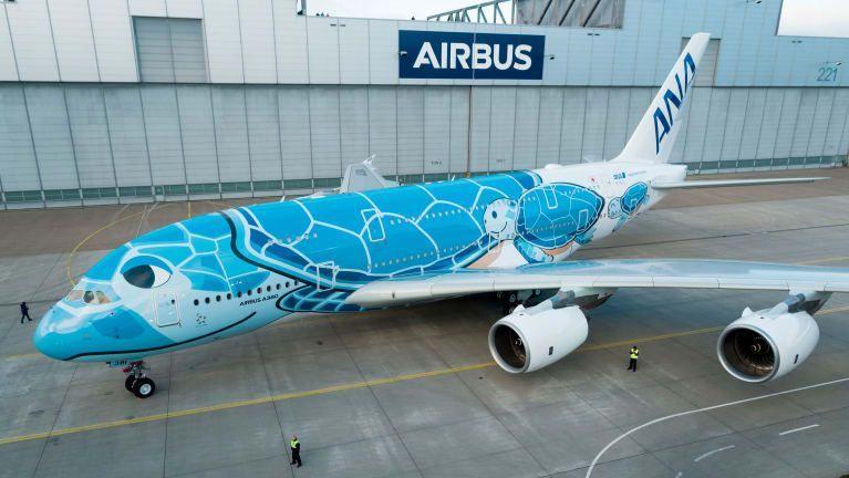 Pesawat A380 dari ANA