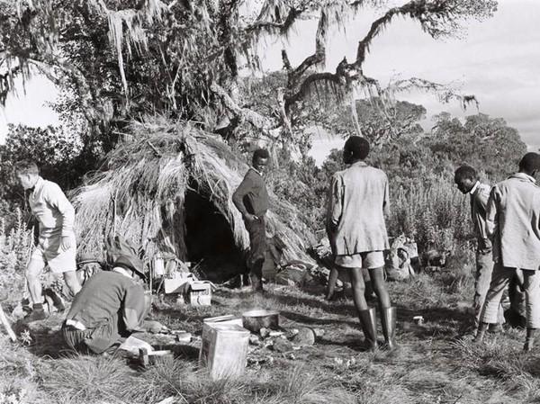 Tujuan ekspedisi ini untuk membantu penyandang kebutaan di Afrika dan menunjukkan orang buta yang terlatih memiliki stamina mental dan fisik untuk mencapai tujuan yang tepat (Paul Latham/Sightsavers/BBC)