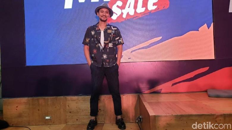 Vincent Rompies di acara BRO CODE (Foto: Luthfi Anshori)