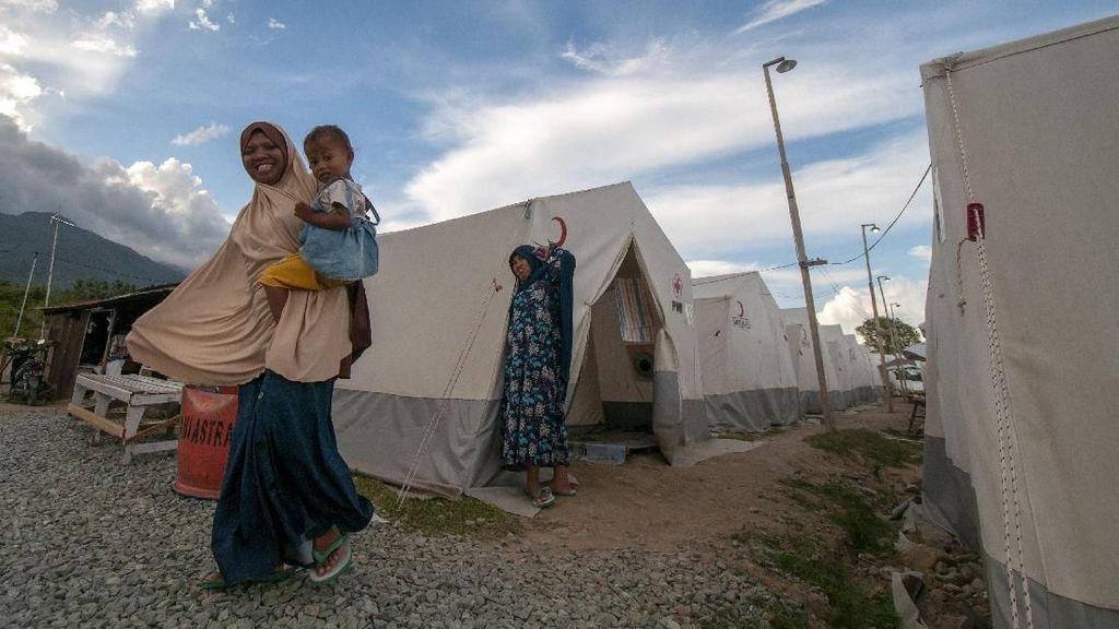 Korban Gempa Palu Belum Tempati Huntara, PUPR: Tanggung Jawab Pemda