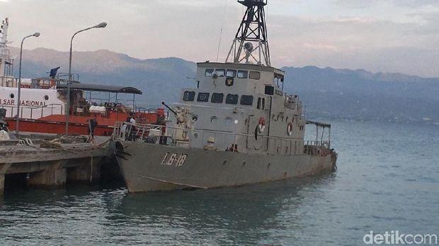 Sempat 'Terbang' Terbawa Tsunami Palu, Kapal TNI AL Kini Melaut Lagi