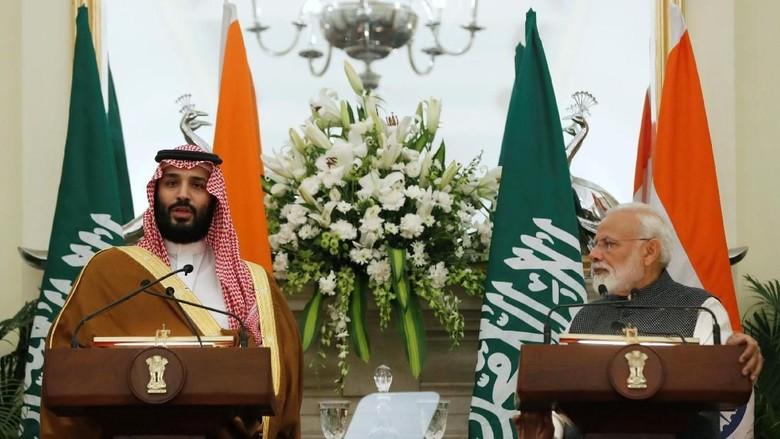 MBS dan PM India Sepakat Tingkatkan Kerja Sama Perangi Terorisme