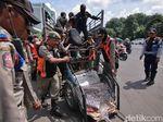 Dishub Larang Bentor Beroperasi di Jalanan Kota Surabaya