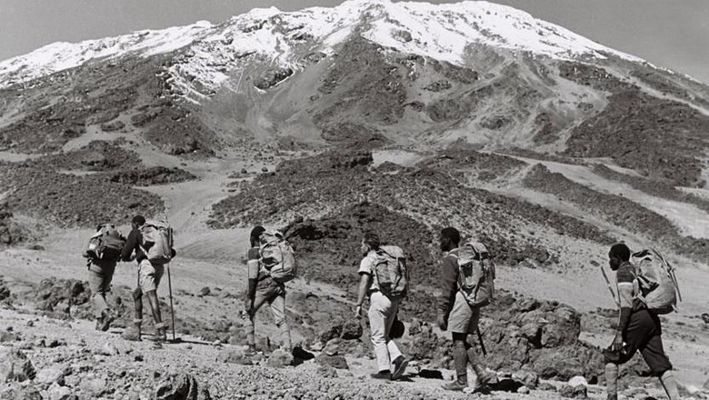 Pendaki Buta di Gunung Kilimanjaro (Paul Latham/Sightsavers/BBC)