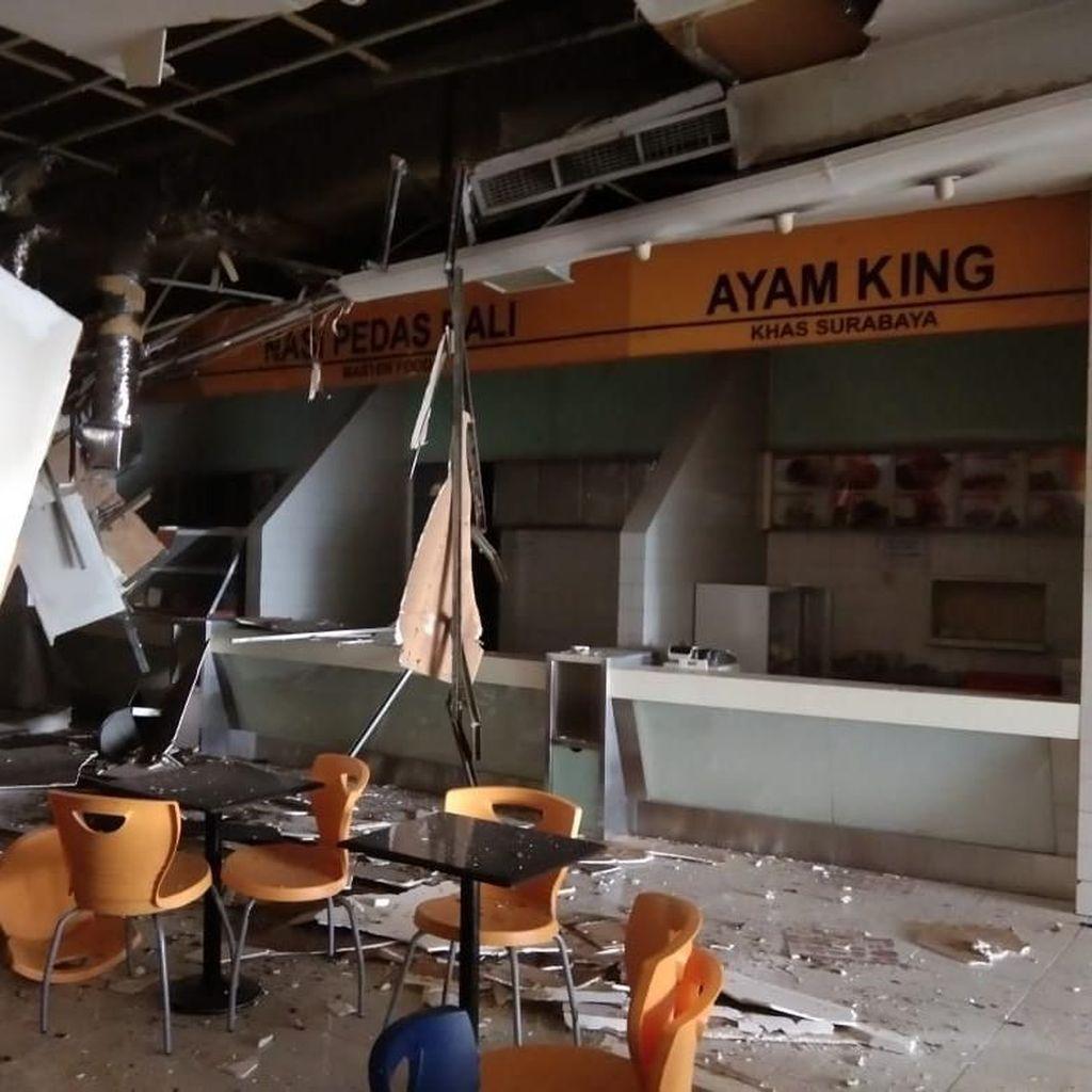 Ledakan di Mal Taman Anggrek Lukai 6 Karyawan Foodcourt!