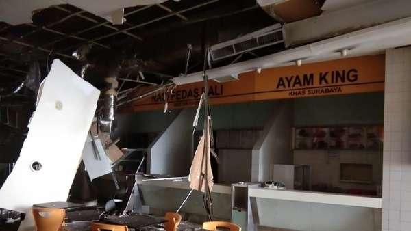 Polisi Olah TKP Lanjutan di Lokasi Ledakan di Mal Taman Anggrek
