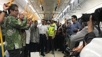 Ditemani Anies dan Menhub, JK Jajal MRT dari HI ke Lebak Bulus