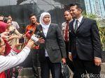 Khofifah-Emil HIngga Syamsuar-Edy Sambangi KPK