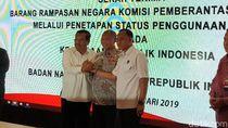 BNN dan Kejagung Dapat Barang Rampasan Rp 110 M dari KPK