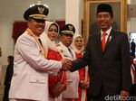 Gubernur Riau Siap Jalankan Perintah Jokowi Cegah Kebakaran Hutan