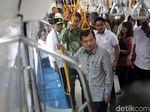 MRT Jakarta Diuji Coba Maret, Pesan JK ke Penumpang: Disiplin!
