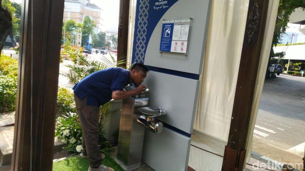 Yang Lama Rusak, 8 Kran Siap Minum Baru di Semarang Sudah Bisa Dipakai