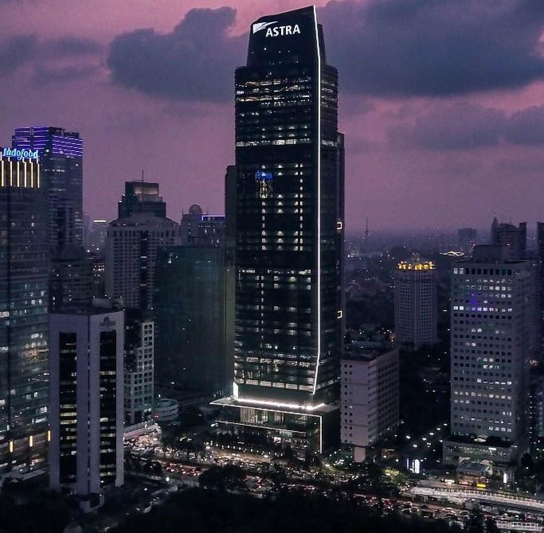 PT Astra International Tbk melakukan grand launching Menara Astra, Rabu (20/2/2019). Bangunan ini menjadi salah satu menara tertinggi di Jakarta.