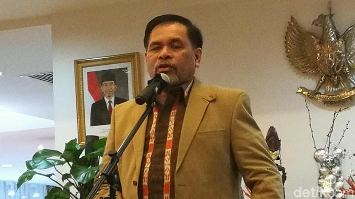 Duta Besar RI untuk China, Djauhari Oratmangun