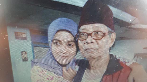 Nana Krip Meninggal, Suami Aura Kasih Duda Beranak Satu