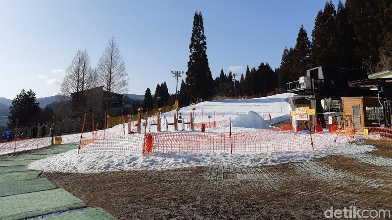 Megahira Ski Resort (Bonauli/detikTravel)