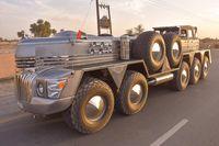 Mobil modifikasi Syekh Arab