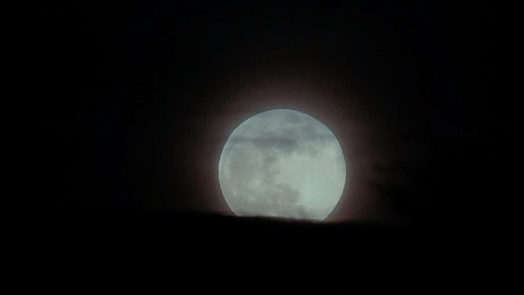 Super Snow Moon merupakan bagian dari Supermoon. Foto: Ian Forsyth/Getty Images