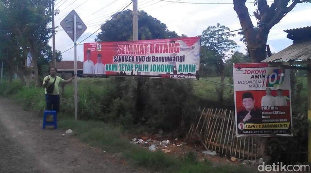 Kedatangan Sandiaga ke Banyuwangi Bakal Disambut Massa Jokowi