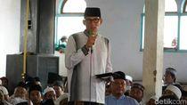 Diberi Kelengkeng Kiai di Banyuwangi, Sandi Batalkan Puasa Sunnah