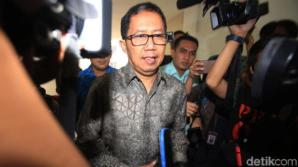 Plt Ketua Umum PSSI Joko Driyono Ditahan Satgas Anti Mafia Bola